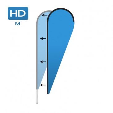 Beachflagga (duk) HD Medium