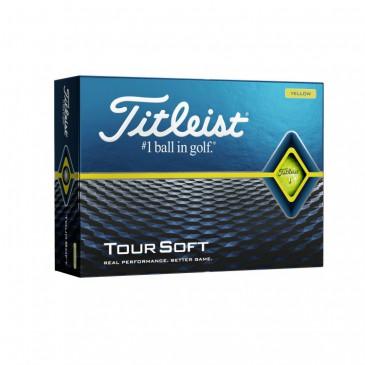 Golfboll Titleist Tour soft